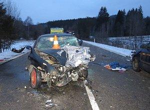 U odbočky na Šebanov se stala vážná dopravní nehoda.