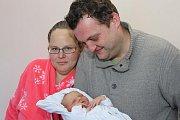 Jedenáctiletý Petr se 16. ledna 2015 ve čtvrt na čtyři ráno dočkal malé sestřičky. Andrea Holubová při porodu vážila 3700 gramů a srodiči Lenkou Zuzelkovou a Jiřím Holubem bydlí vBřezovíku.