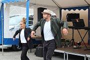 Tanec Bud Side na Rožmitálských slavnostech.