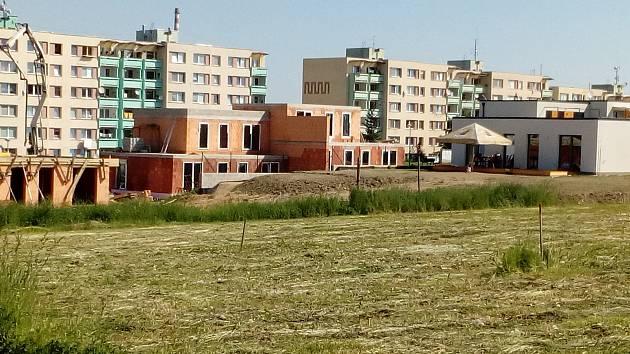 Bytová výstavba na Vrších ve Velešíně.
