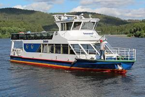 Loď na Lipně. Ilustrační foto.