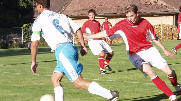 Loučovičtí fotbalisté si přivezli z Rudolfova pětigólový příděl.