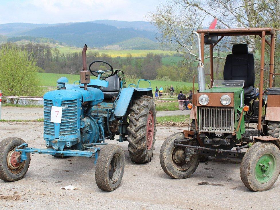 Traktoriáda. Ilustrační foto.