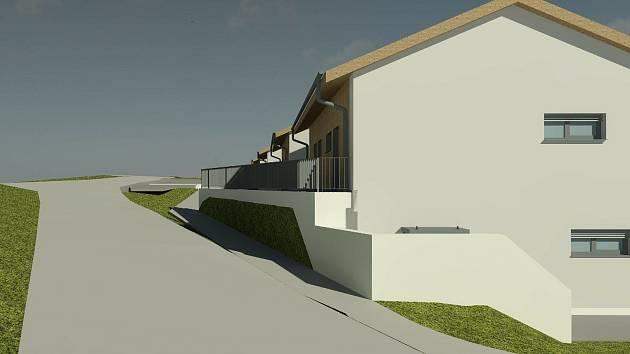 Takto budou vypadat nové byty pro seniory v Loučovicích.