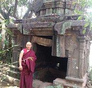 Buddhistický mnich Pema Samdup navštíví v březnu Frymburk.