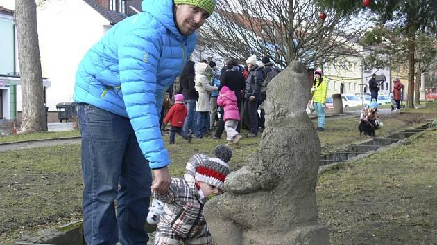 Trpasličí Vánoce ve Frymburku.