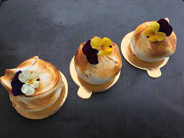 Ducha pařížských cukráren se povedlo přenést Michaele Fürstové, mamince tří dětí na mateřské dovolené, ido Českého Krumlova.