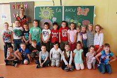 Představujeme prvňáky ze Základní školy Velešín. -1.A