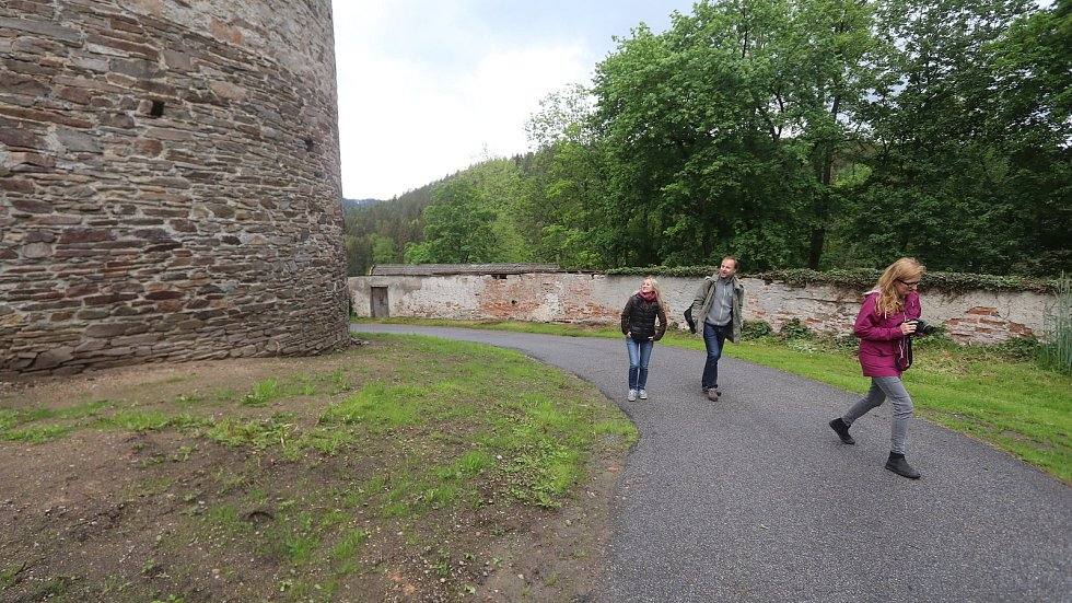 Otevření věže Jakobínka v Rožmberku