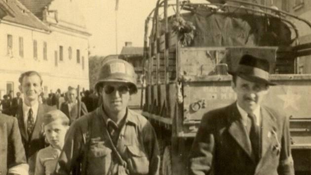 Osvobození Velešína v květnových dnech roku 1945.