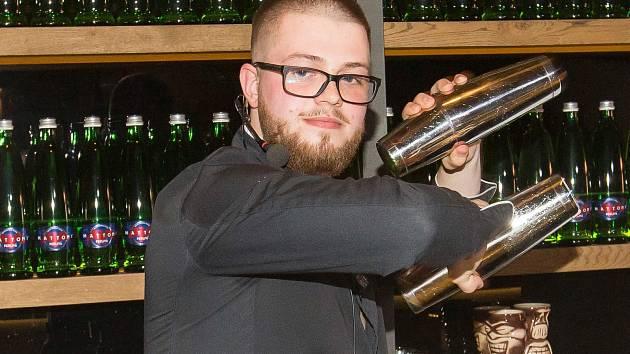 Robert Weis se umístil na druhém místě na 21. Národním nominačním kole Mattoni Grand Drink v Českých Budějovicích.