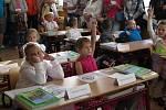 Třída I. C v ZŠ Fantova, kterou vede učitelka Jana Tlapová.