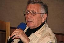 Jiří Menzel v českokrumlovském kině.