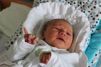 Na svého malého brášku Eliáše Christiana Placera doma v Budějovicích netrpělivě čekají dva starší sourozenci. Když se v krumlovské porodnici narodil, vážil 3,63 kg a měřil 51 centimetrů.