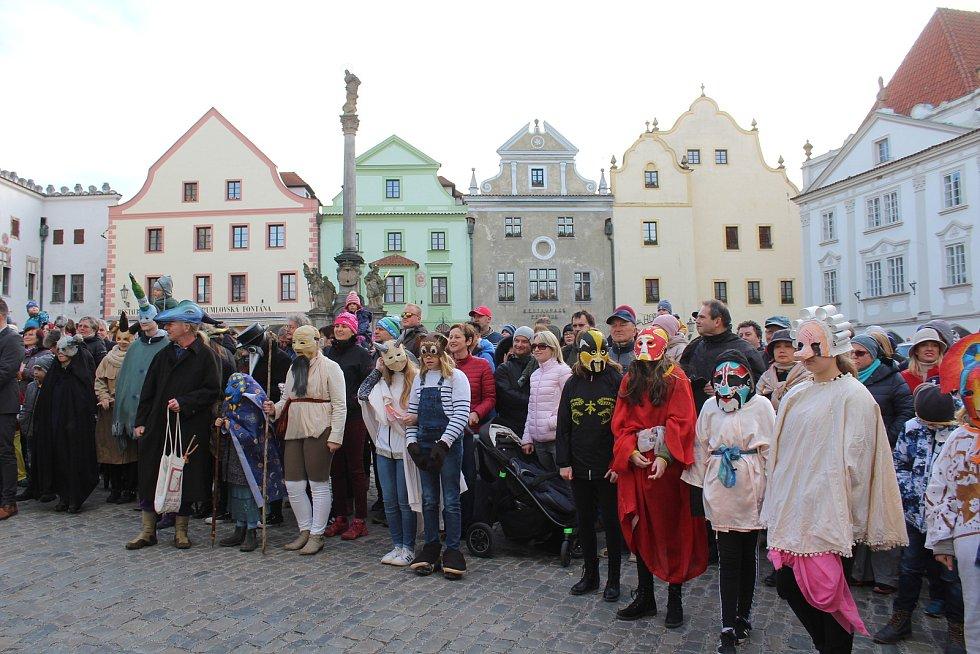 Masopust v Českém Krumlově 2019.