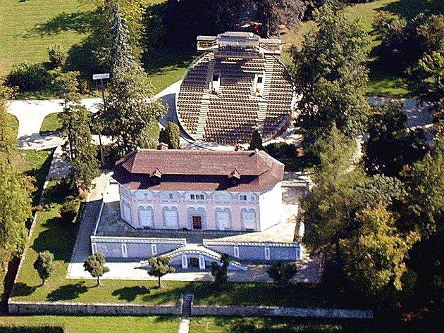 Otáčivé hlediště a Bellaria vČeském Krumlově