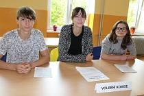 Studentské volby na kaplickém Gymnáziu a Střední odborné škole ekonomické.