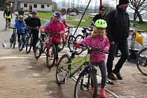 Už podruhé pořádá v sobotu město Horní Planá akci Na kole kolem Horní Plané.