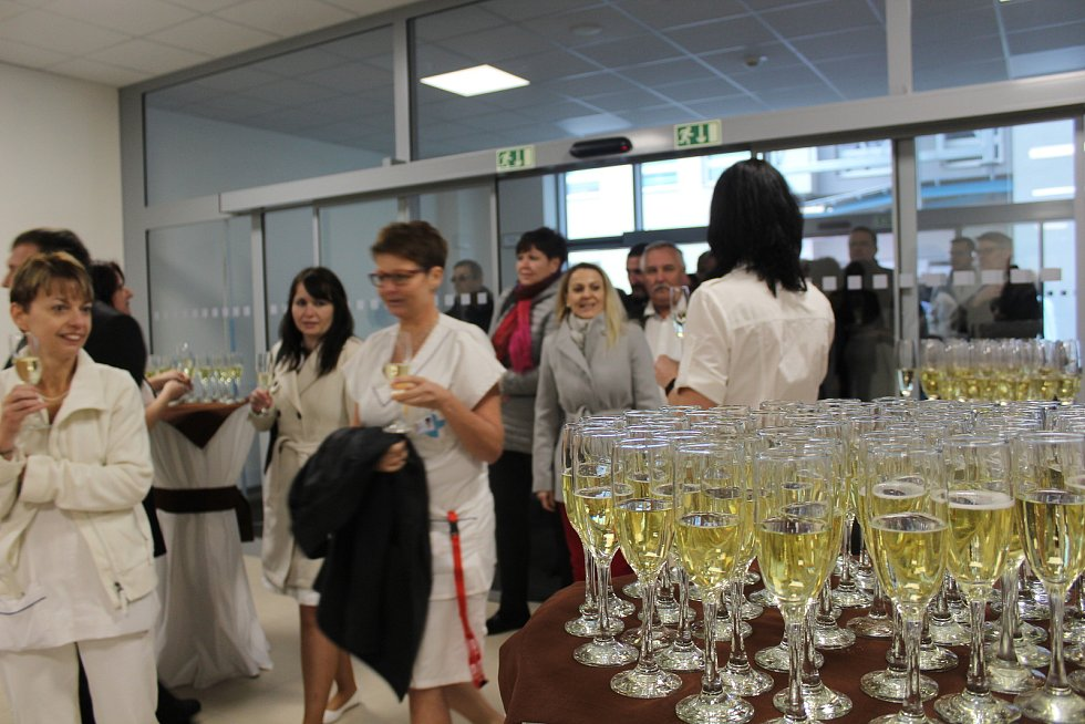Slavnostní otevření nového pavilonu B českokrumlovské nemocnice.
