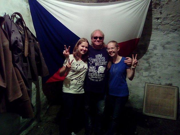 Únikovou hru si užila i rodina Špilínkova.