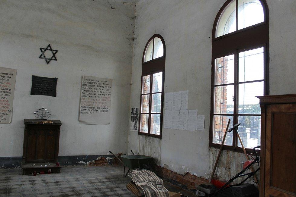 Židovský hřbitov v Českém Krumlově.