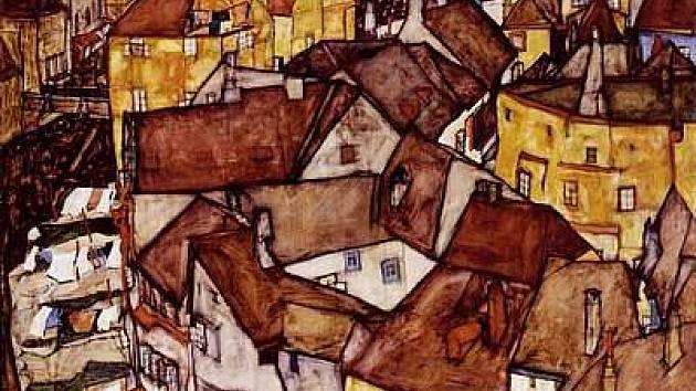 Schieleho obrazy si velice pečlivě prohlížejí i památkáři, protože před sto lety nebyly některé detaily města jinak vůbec zaznamenané.