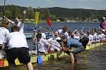 Zahájení sezóny a dračí lodě na Lipně.
