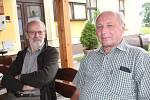 Jan Märtl a Václav Baštář. Úspěšné odlovy.