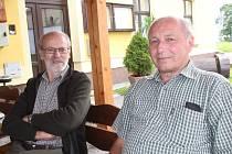 Radek Märtl a Václav Baštář. Úspěšné odlovy.