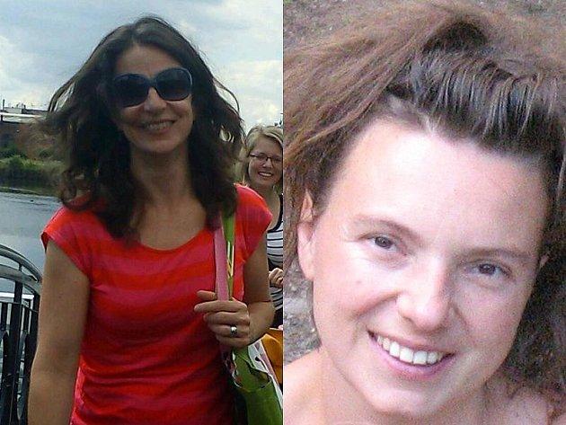 Carolyn Zukowski (vlevo) zpovídá ve Štafetě Deníku Oldřišku Balouškovou.