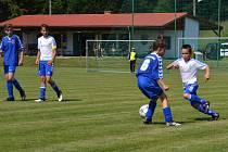 Poslední červnovou sobotu bude hřiště v Nové Vsi na Českokrumlovsku plné fotbalu v podání hráčů všech věkových kategorií.