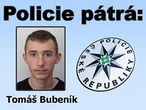 Hledaný Tomáš Bubeník z Loučovic. Důležité informace volejte policii nebo na linku 158.