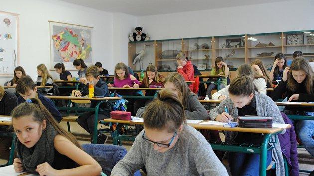 Přijímačky nanečisto v krumlovském gymnáziu