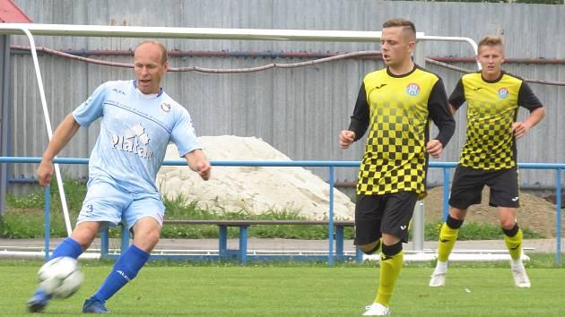 Příprava: FK Protivín (modré dresy) – FK Spartak Kaplice 6:0 (2:0).
