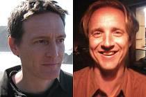 Na otázky Kristiana Farella (vlevo) odpovídá ve Štafetě Deníku David Heide.