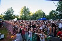 Sucháč fest si užili návštěvníci v městském parku v Kaplici.