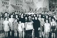 Dětský soubor z filmu Theresienstadt.