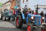 K vidění byly traktory od starších typů až po nejmodernější techniku.