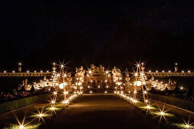 Barokní noc na krumlovském zámku 33.ročníku Festivalu komorní hudby.
