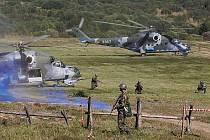 Ani armáda, ani SÚRAO podle svých oficiálních tvrzení neprovádějí pod boletickým prostorem žádné výbuchy. Ilustrační foto.