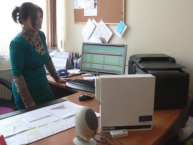 Anna Litvanová v Domech s pečovatelskou službou.