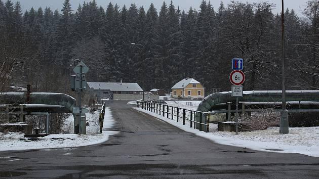 Loučovický most u kaple sv. Prokopa.