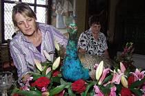 Květinová výstava začíná na hradě Rožmberk.