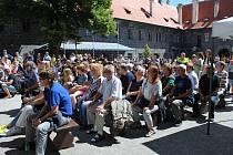 Jazzband knížení Schwarzenberské gardy zahrál v rámci Festivalu komorní hudby skladby ze schwarzenberského archivu.