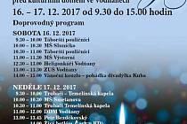Vodňany -  Místostarosta města Milan Kodádek zve všechny na Vánoční trhy do Vodňan.