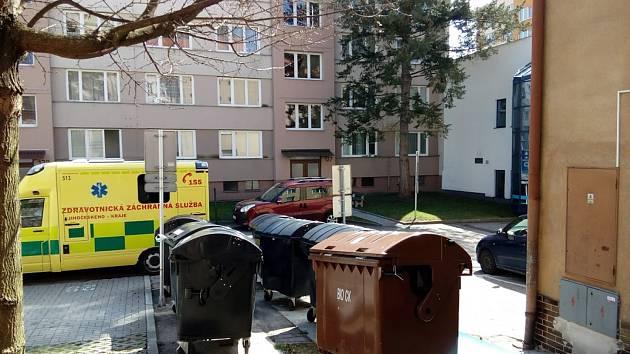 Obyvatelé sídliště Špičák kontejner na biodpad najdou pod lékárnou.