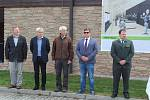 Slavnostního položení základního kamene pro výstavbu návštěvnického centra a naučné stezky Olšina.