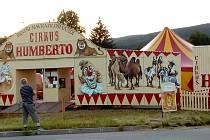 Cirkus Humberto hraje v sobotu poslední představení v Českém Krumlově.