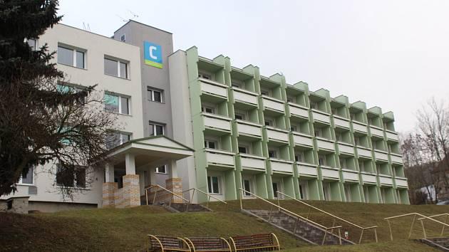 Českokrumlovská nemocnice. Ilustrační foto.