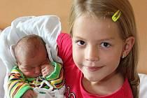 Nej miminko září Kryštof Brabec z Křemže.